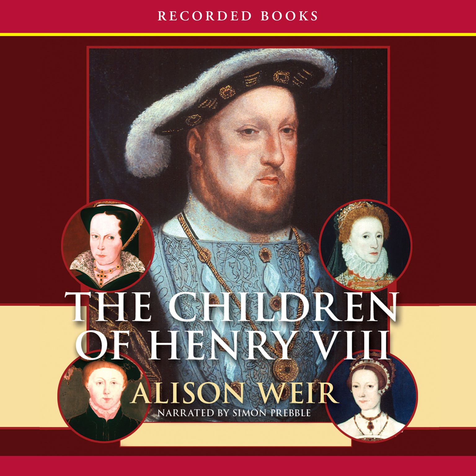 Printable The Children of Henry VIII Audiobook Cover Art