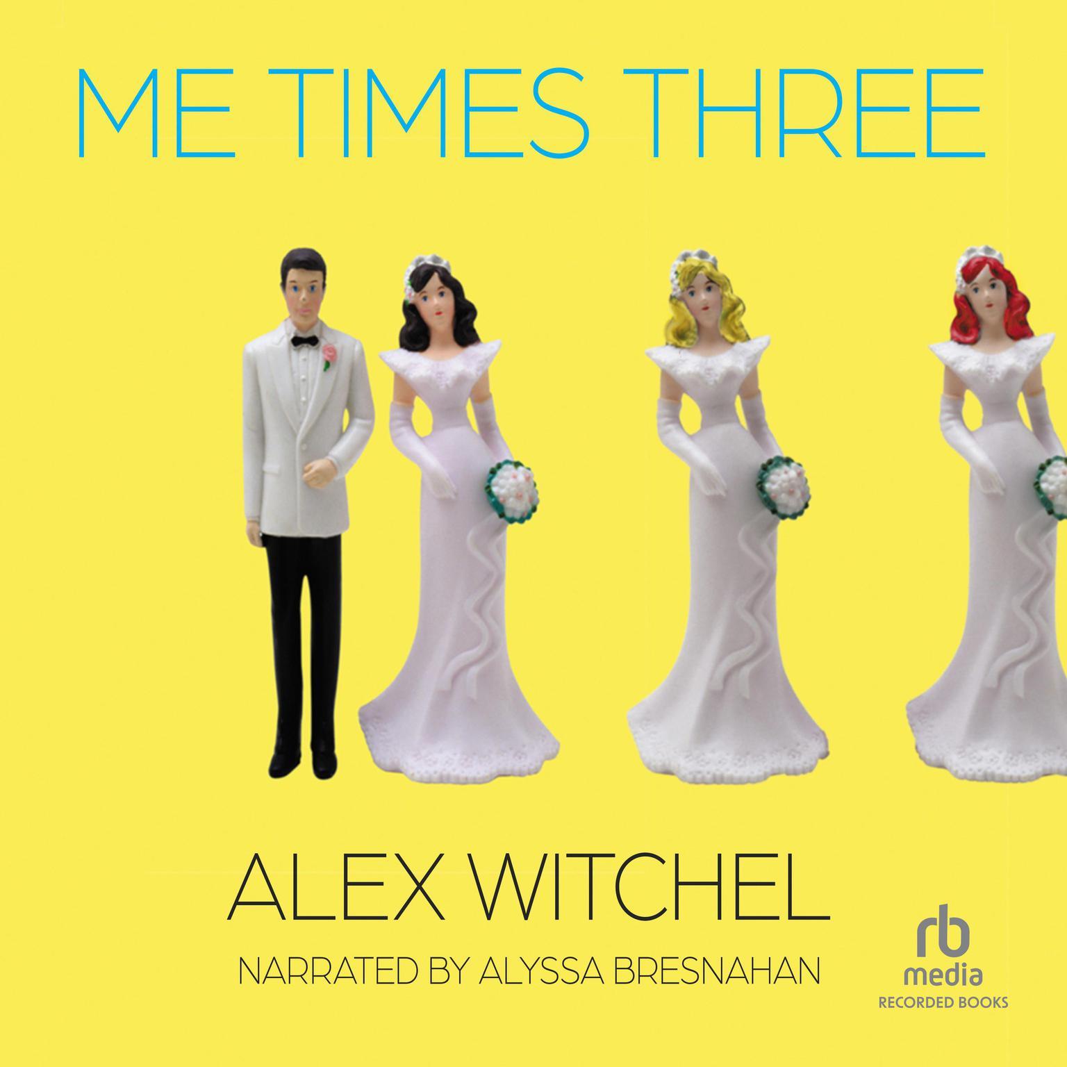 Printable Me Times Three Audiobook Cover Art