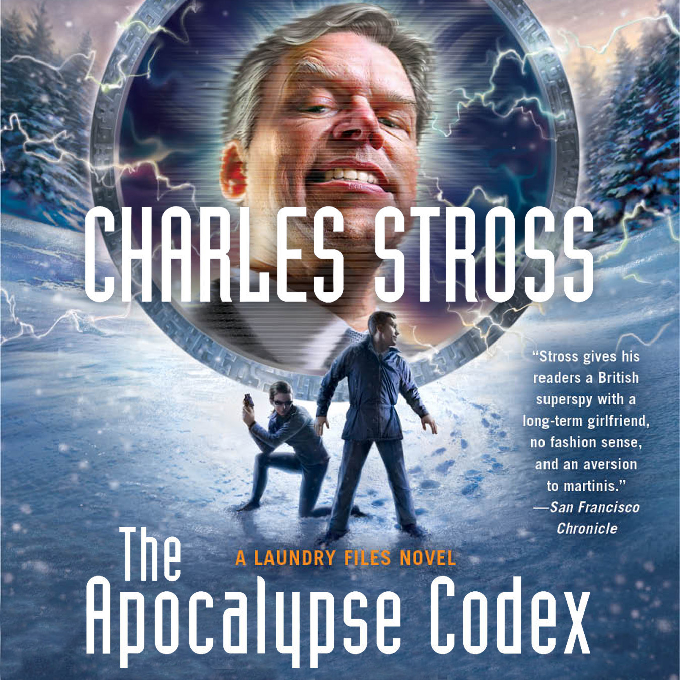 Printable The Apocalypse Codex Audiobook Cover Art