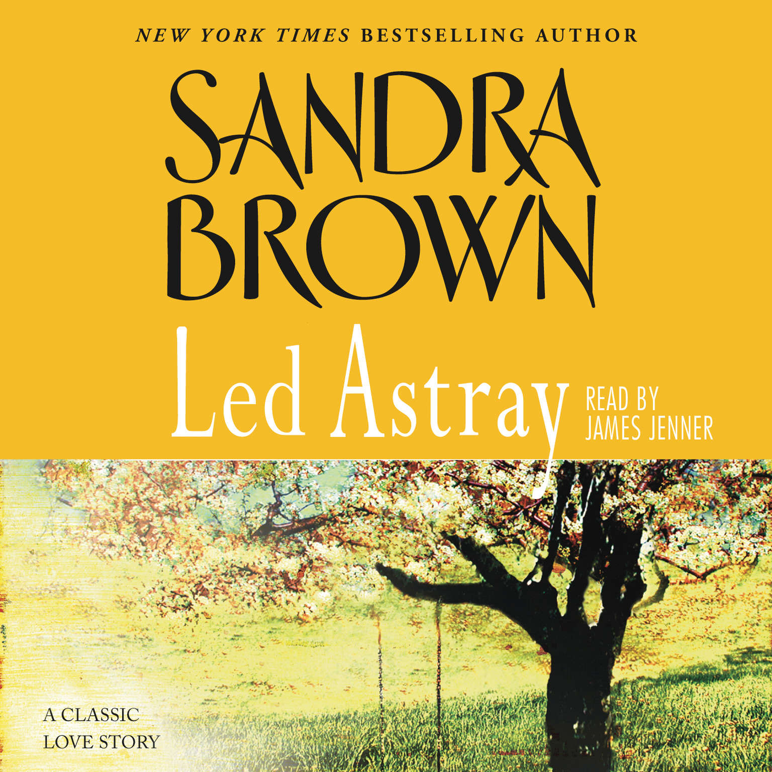 Printable Led Astray Audiobook Cover Art