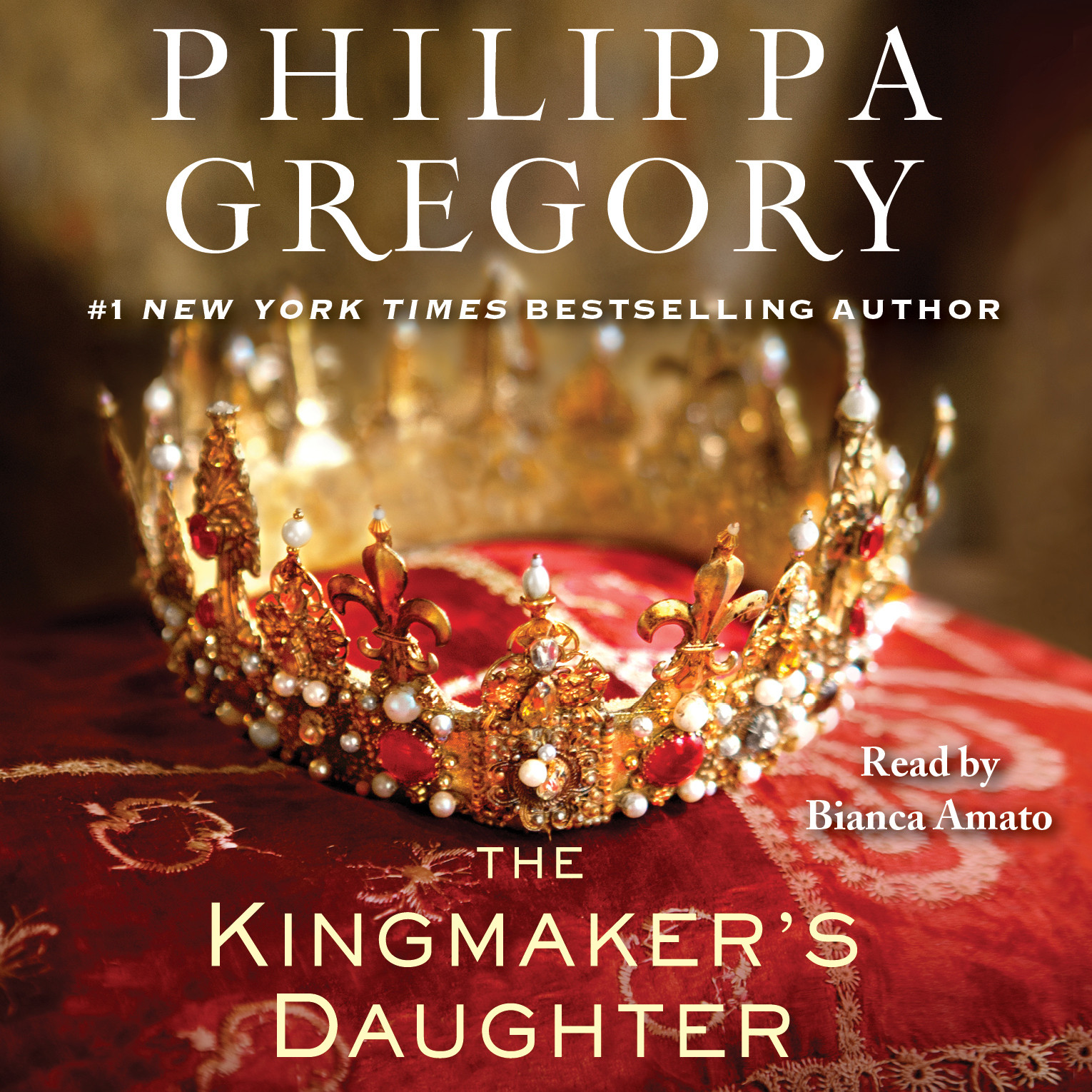 Printable The Kingmaker's Daughter Audiobook Cover Art