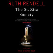 The St. Zita Society: A Novel Audiobook, by Ruth Rendell