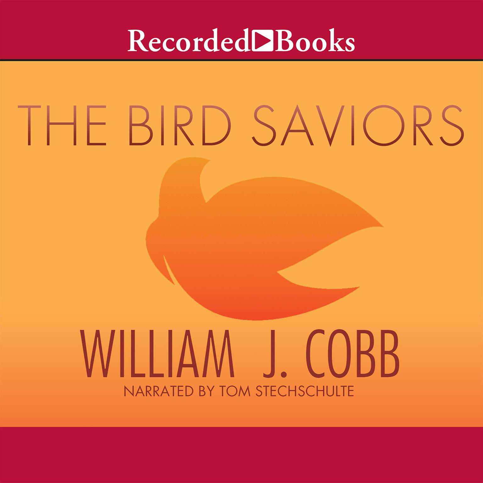 Printable The Bird Saviors Audiobook Cover Art