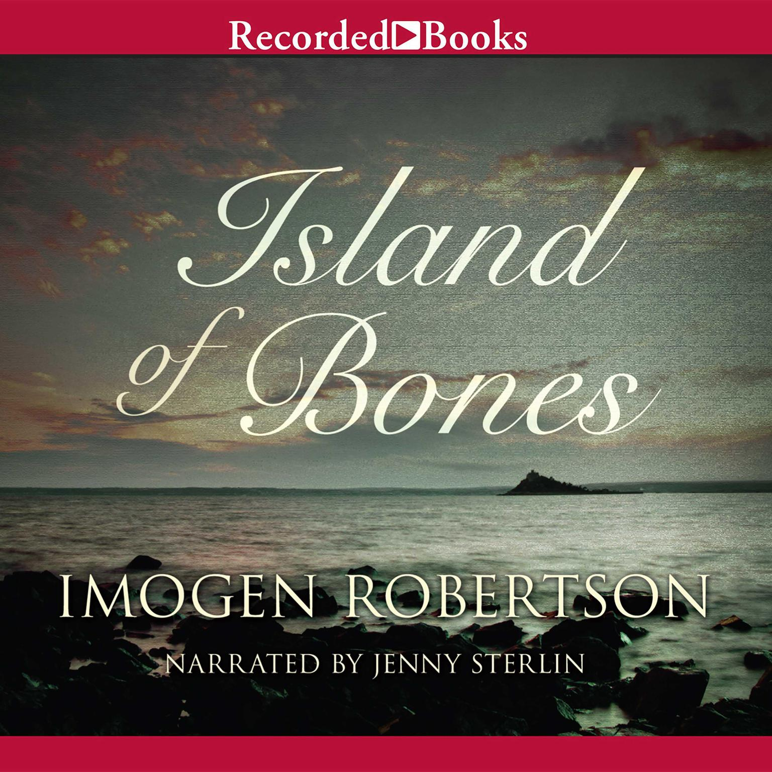 Printable Island of Bones Audiobook Cover Art