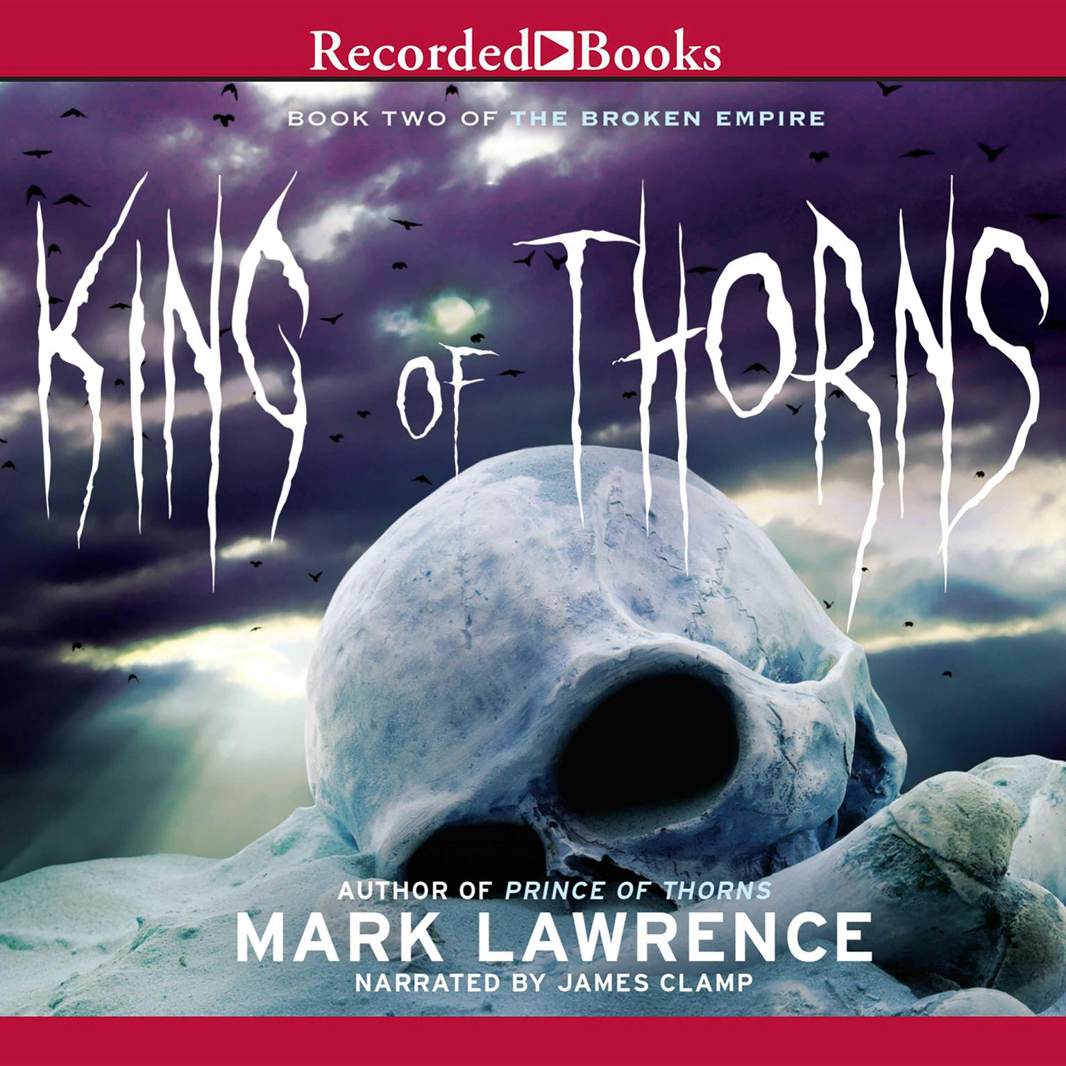 Printable King of Thorns Audiobook Cover Art