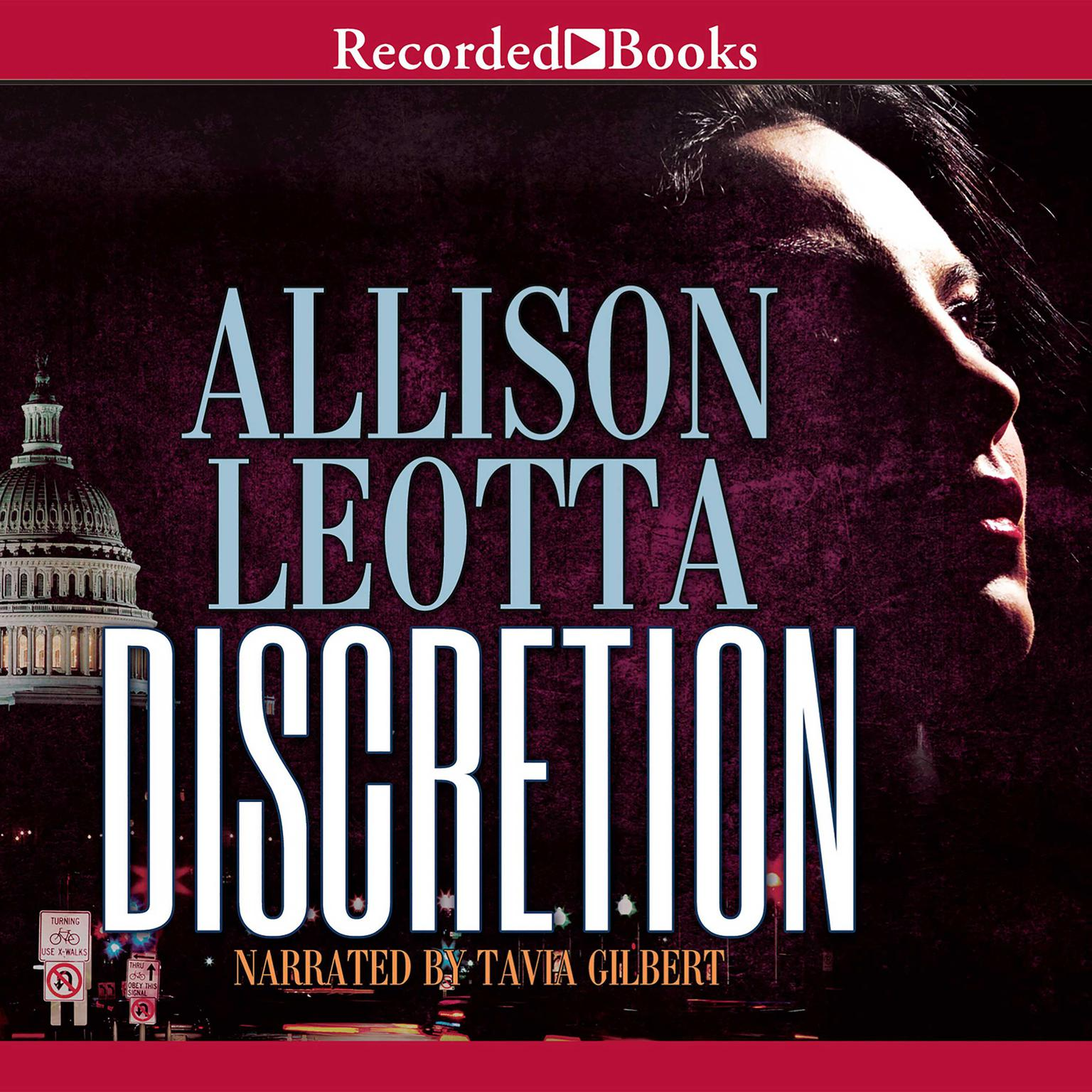 Printable Discretion Audiobook Cover Art