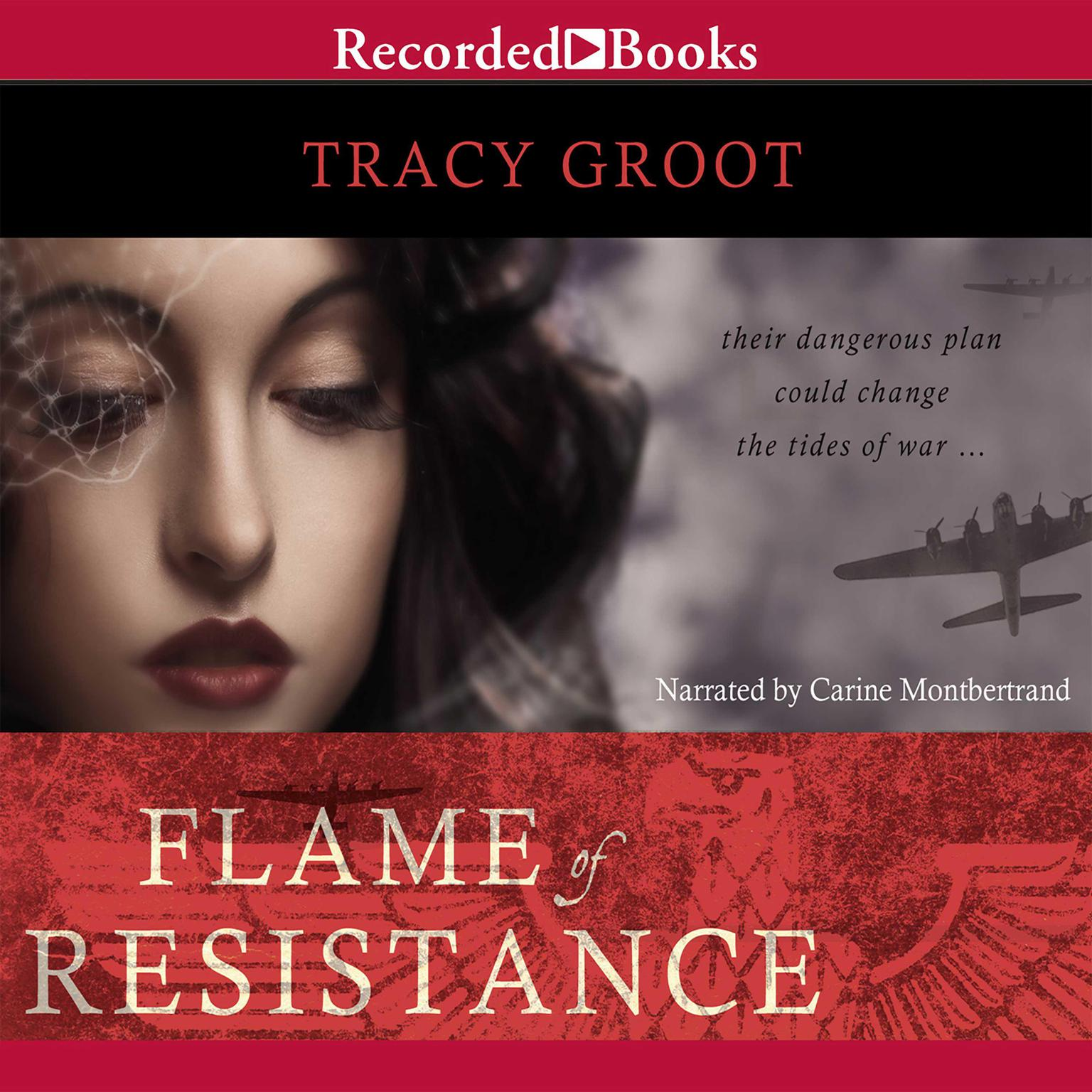 Printable Flame of Resistance Audiobook Cover Art