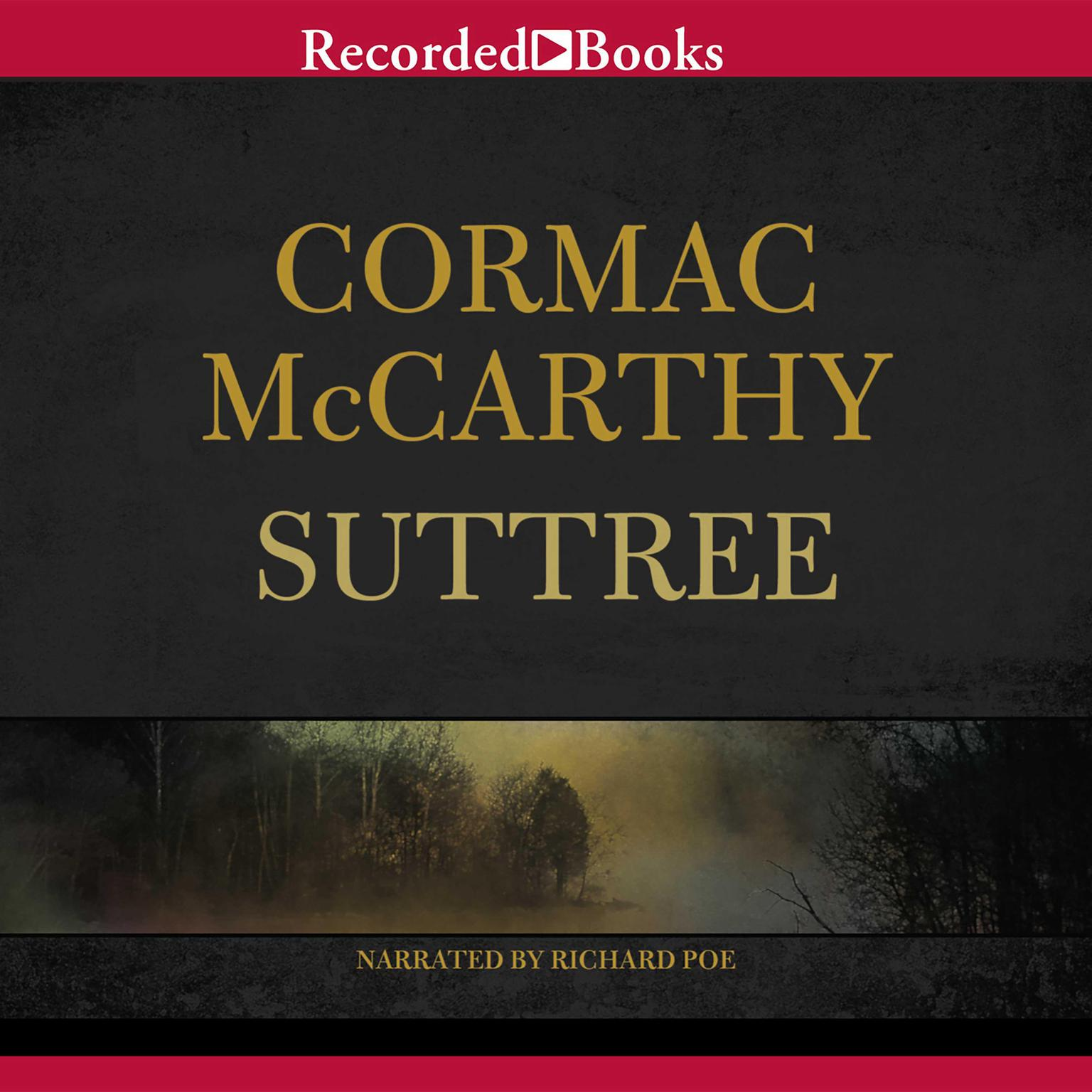 Printable Suttree Audiobook Cover Art