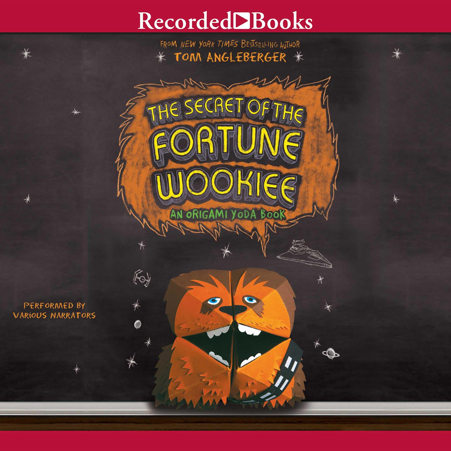Printable The Secret of the Fortune Wookiee: An Origami Yoda Book Audiobook Cover Art