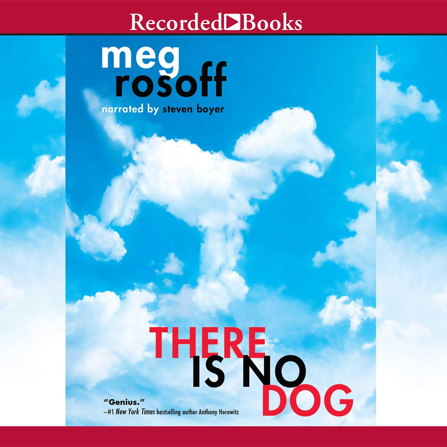 Printable There Is No Dog Audiobook Cover Art