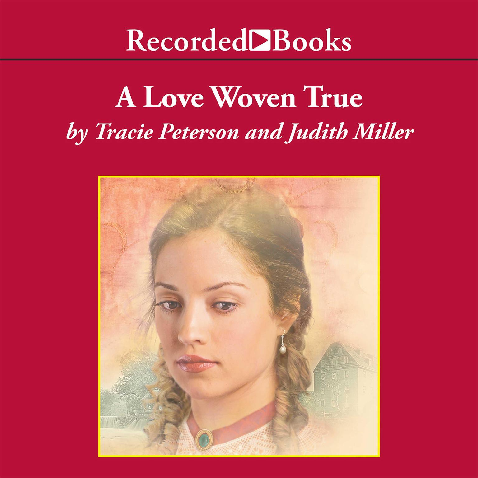 Printable A Love Woven True Audiobook Cover Art
