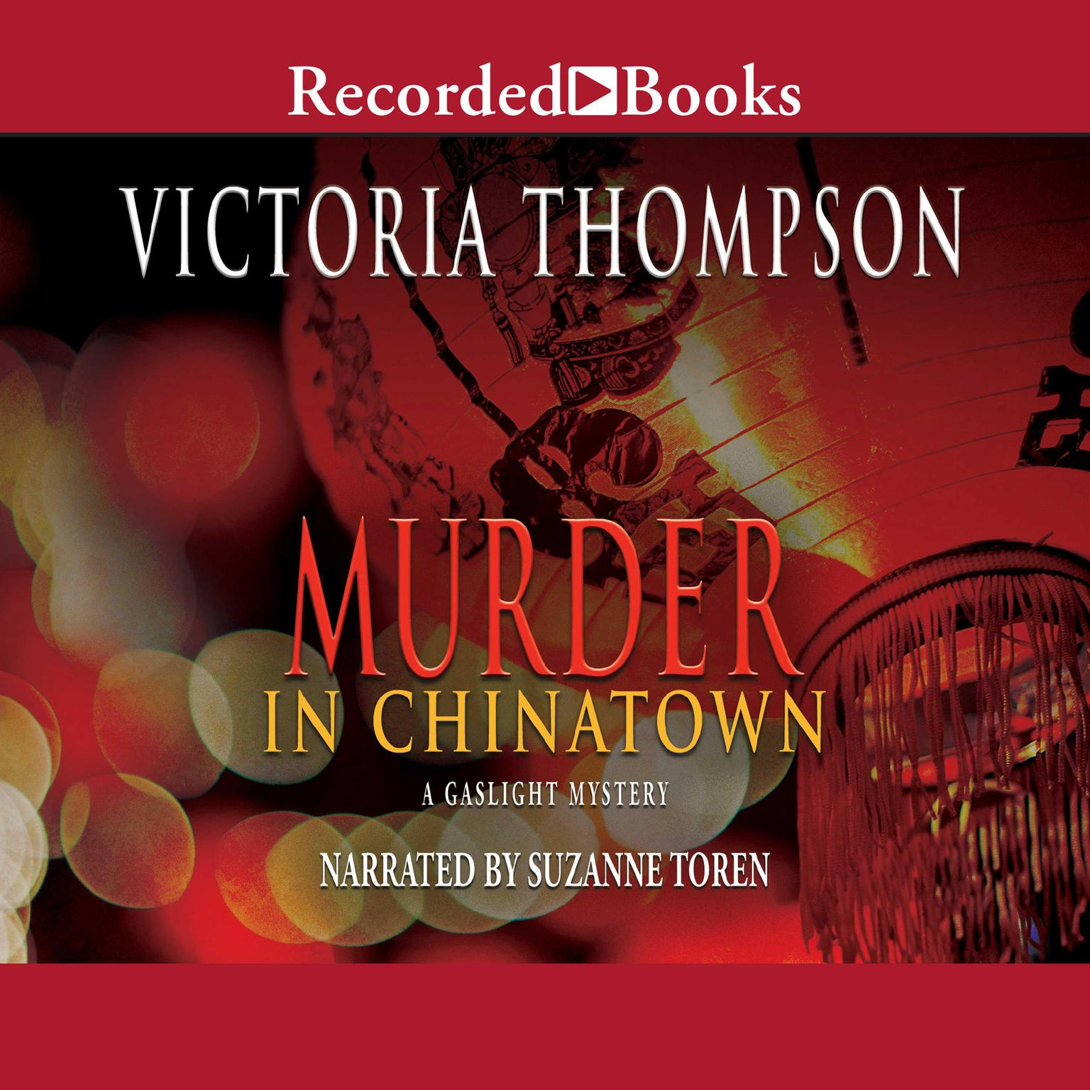 Printable Murder in Chinatown Audiobook Cover Art