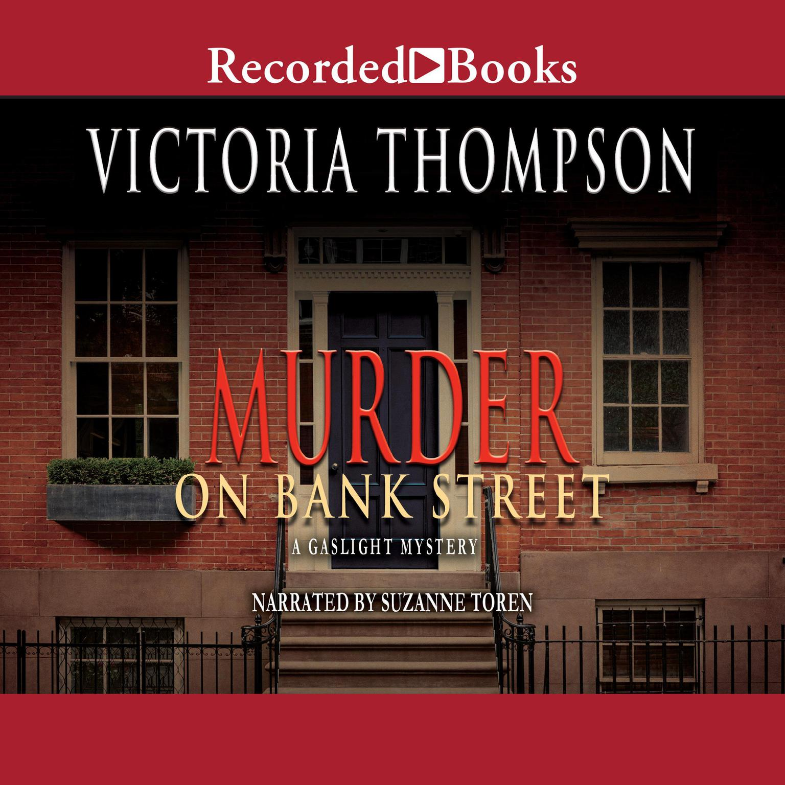 Printable Murder on Bank Street Audiobook Cover Art