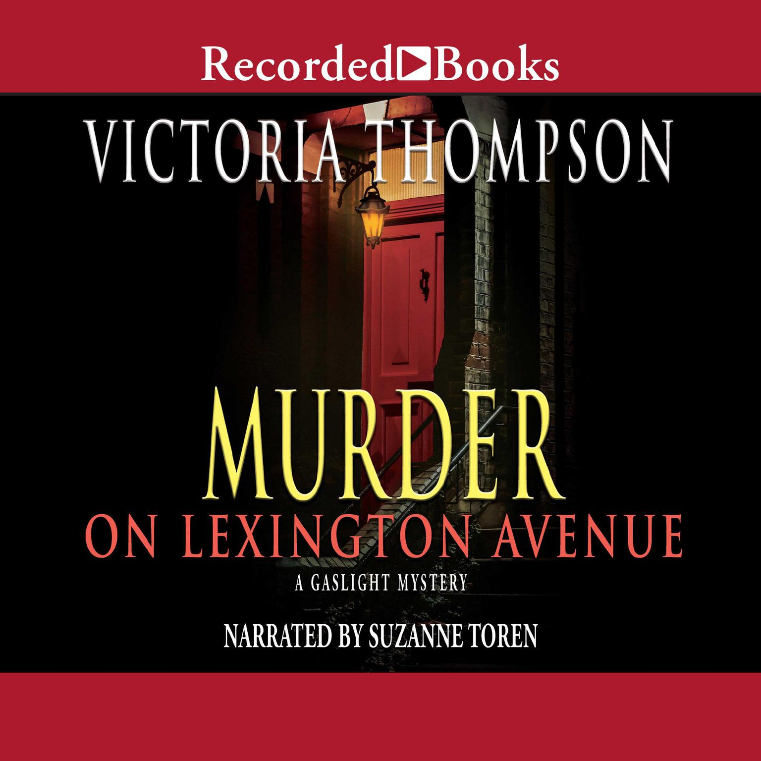 Printable Murder on Lexington Avenue Audiobook Cover Art