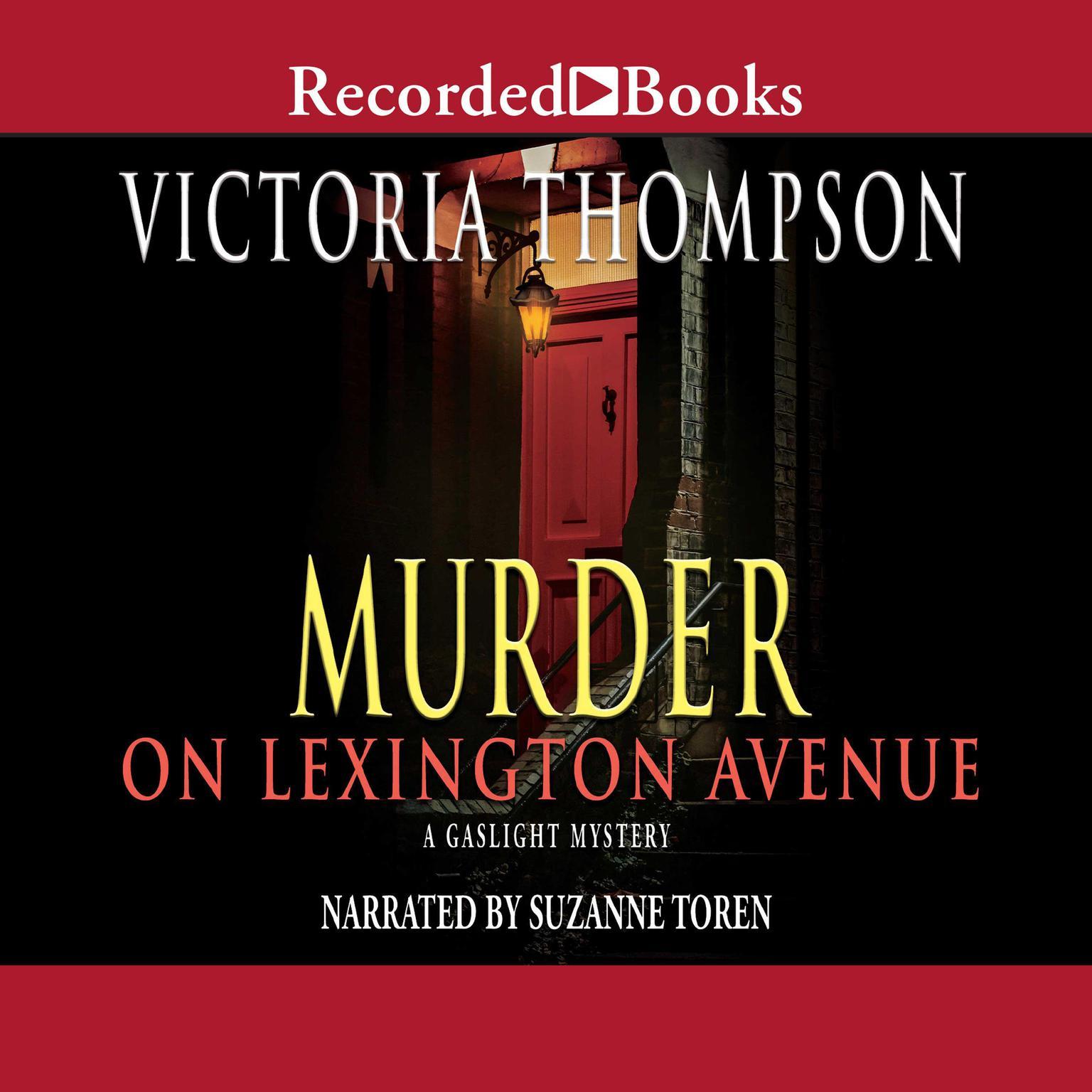Printable Murder on Lexington Avenue Audiobook Cover Art