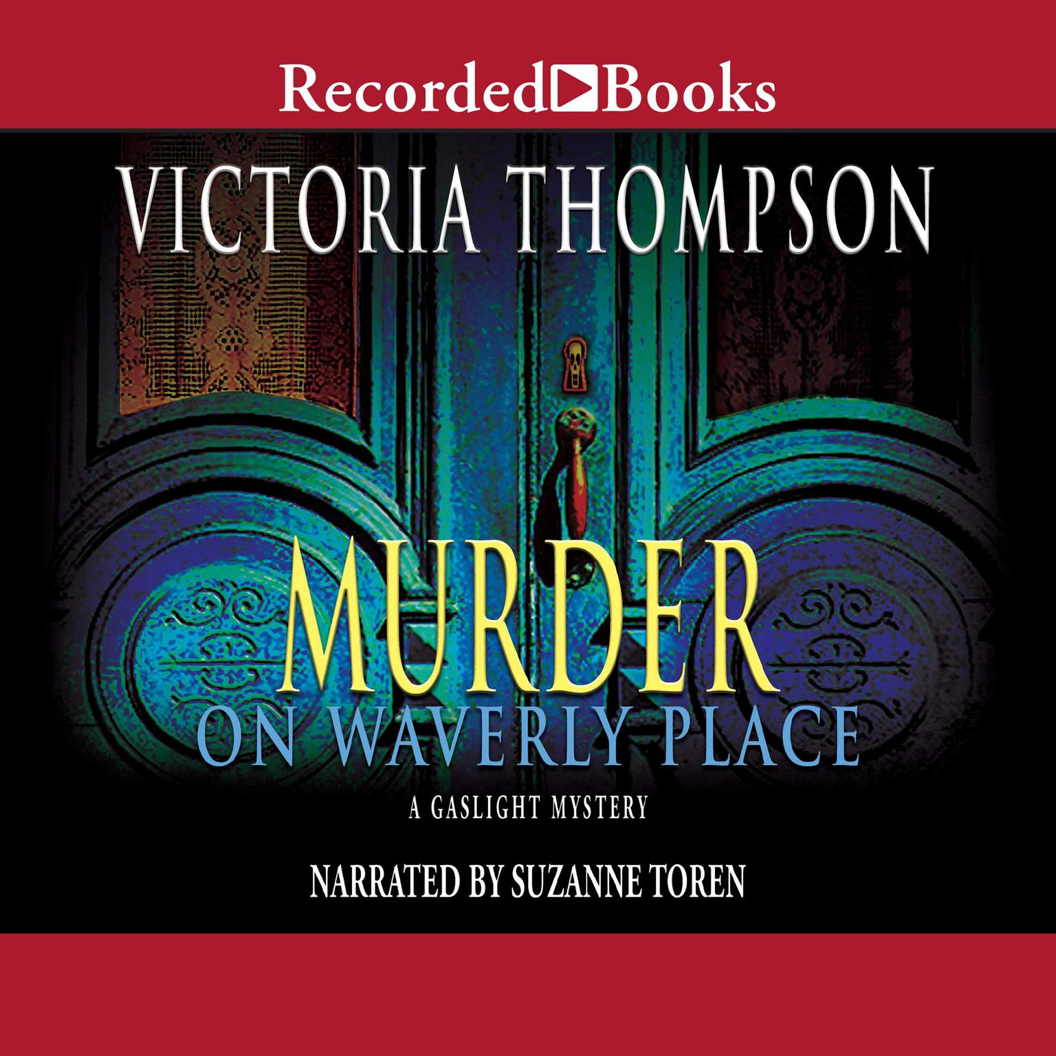 Printable Murder on Waverly Place Audiobook Cover Art