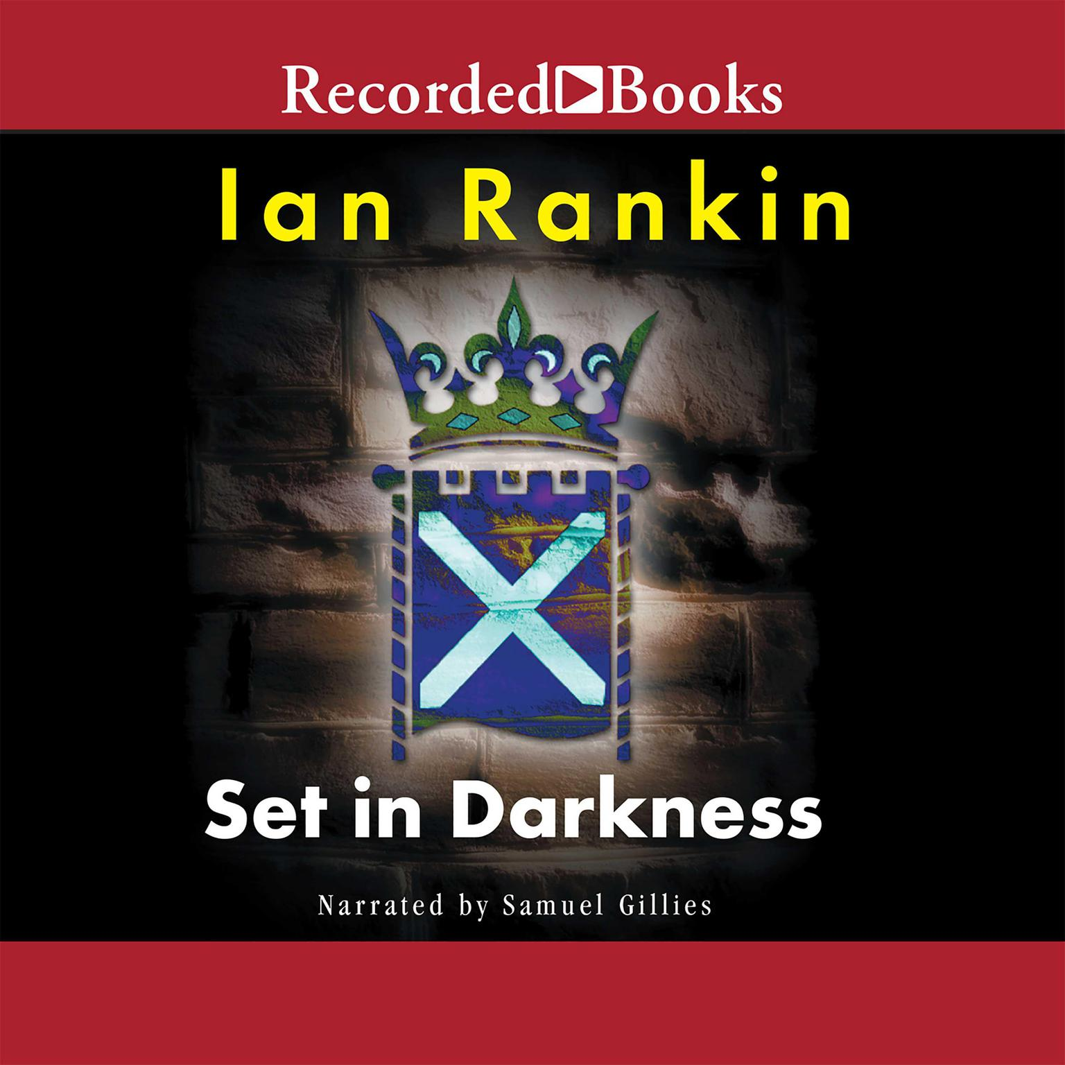 Printable Set in Darkness Audiobook Cover Art