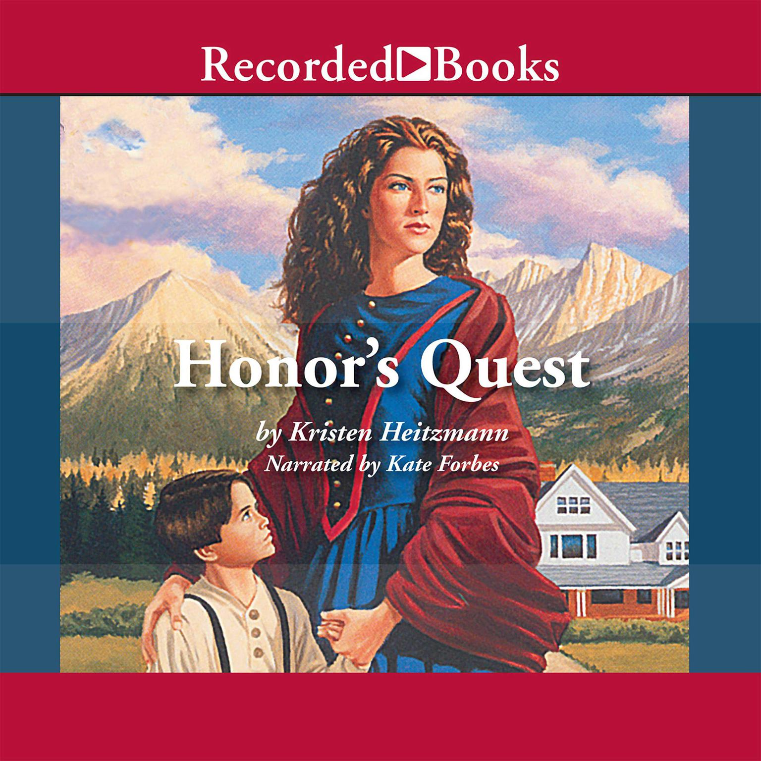 Printable Honor's Quest Audiobook Cover Art