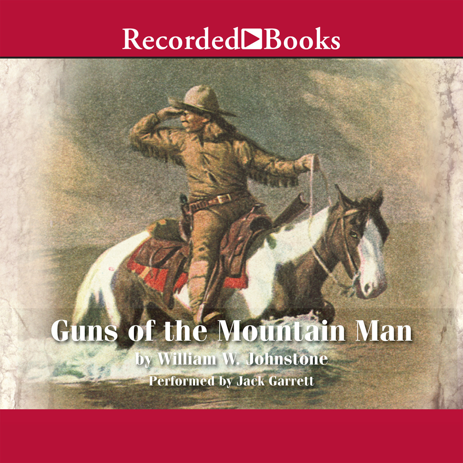Printable Guns of the Mountain Man Audiobook Cover Art