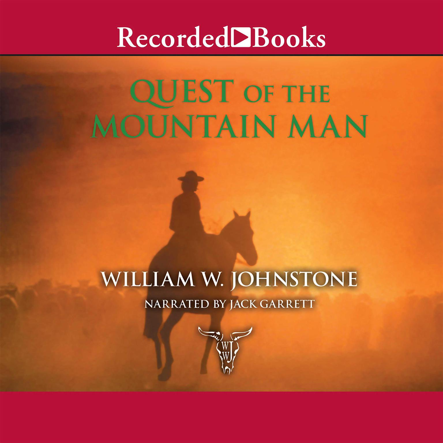 Printable Quest of the Mountain Man Audiobook Cover Art