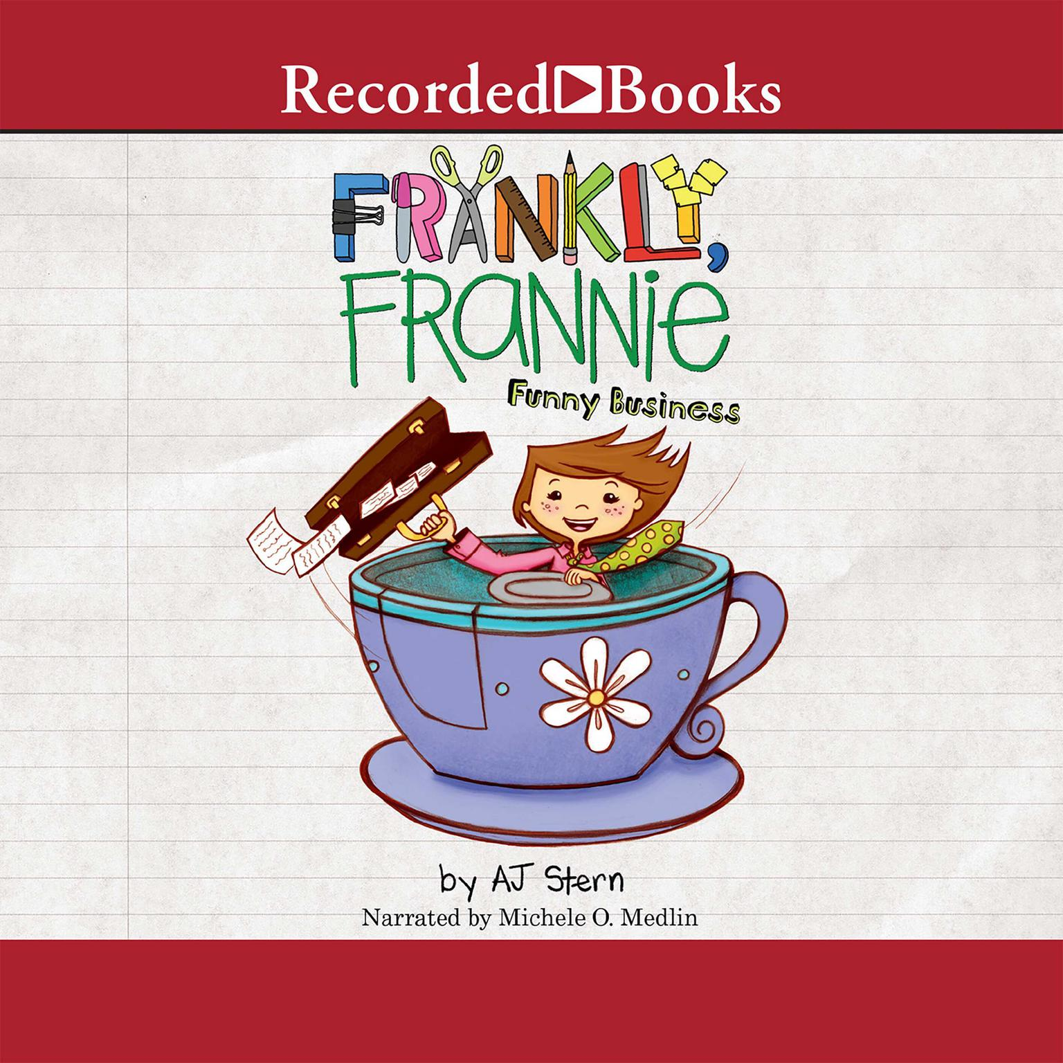 Printable Funny Business Audiobook Cover Art
