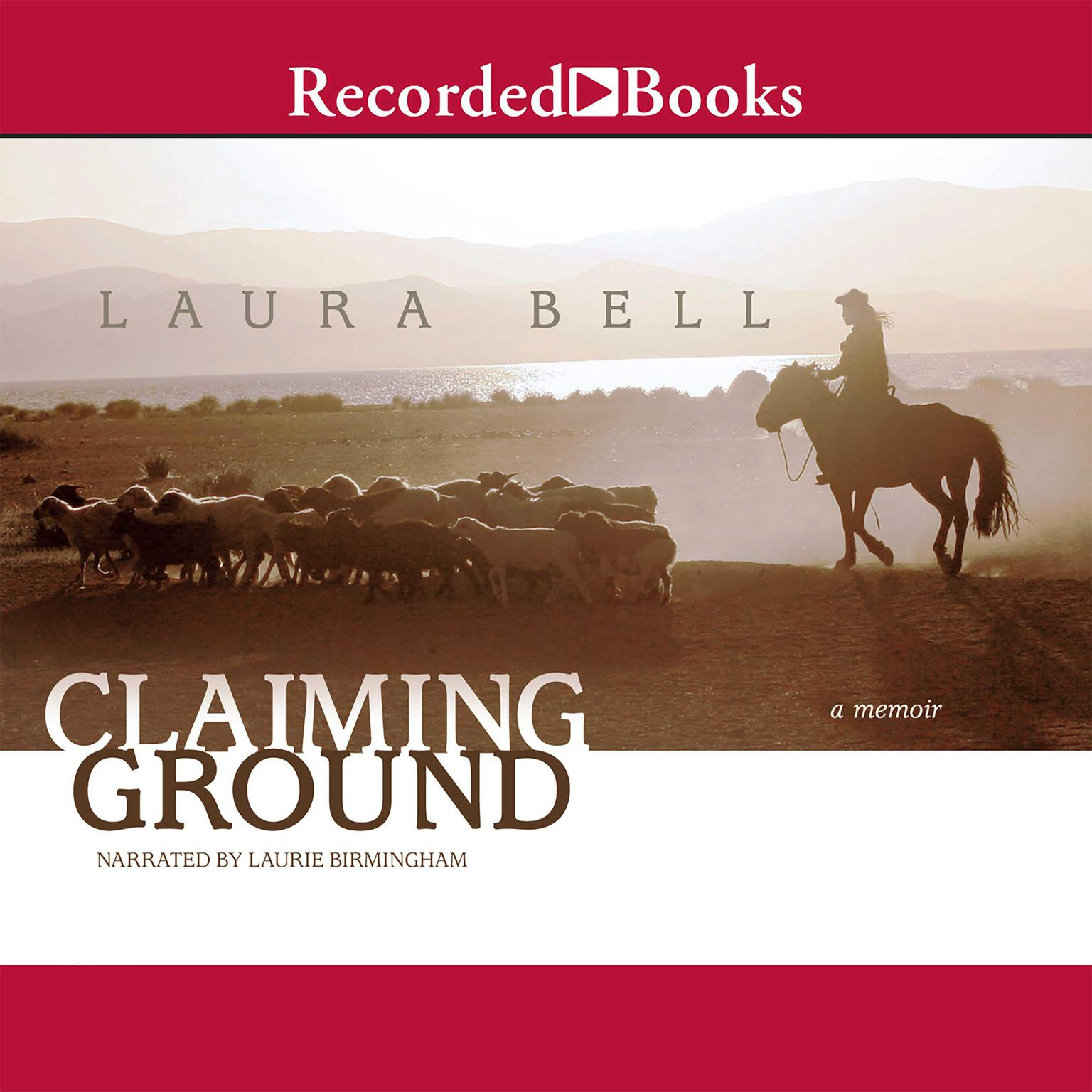 Printable Claiming Ground Audiobook Cover Art