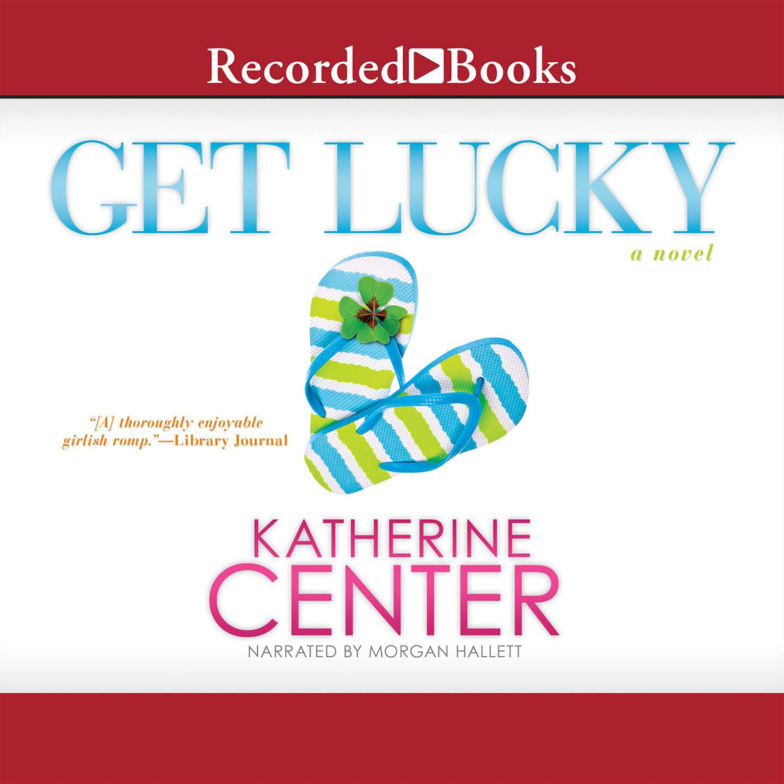 Printable Get Lucky: A Novel Audiobook Cover Art