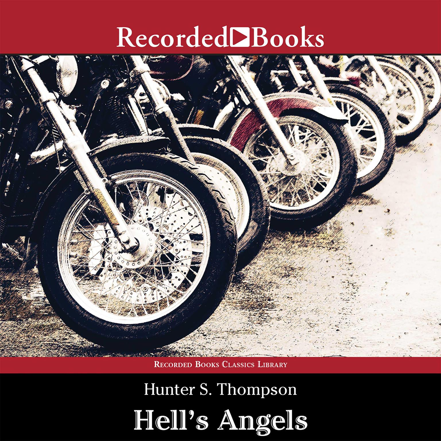 Printable Hell's Angels: A Strange and Terrible Saga Audiobook Cover Art