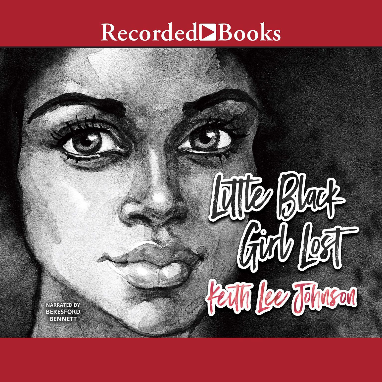 Printable Little Black Girl Lost Audiobook Cover Art