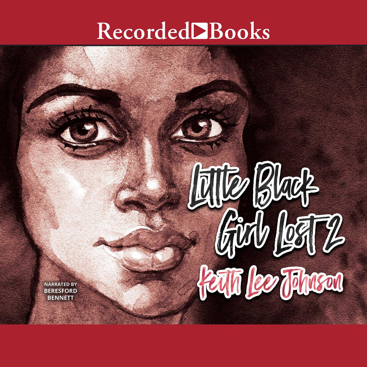 Printable Little Black Girl Lost 2 Audiobook Cover Art
