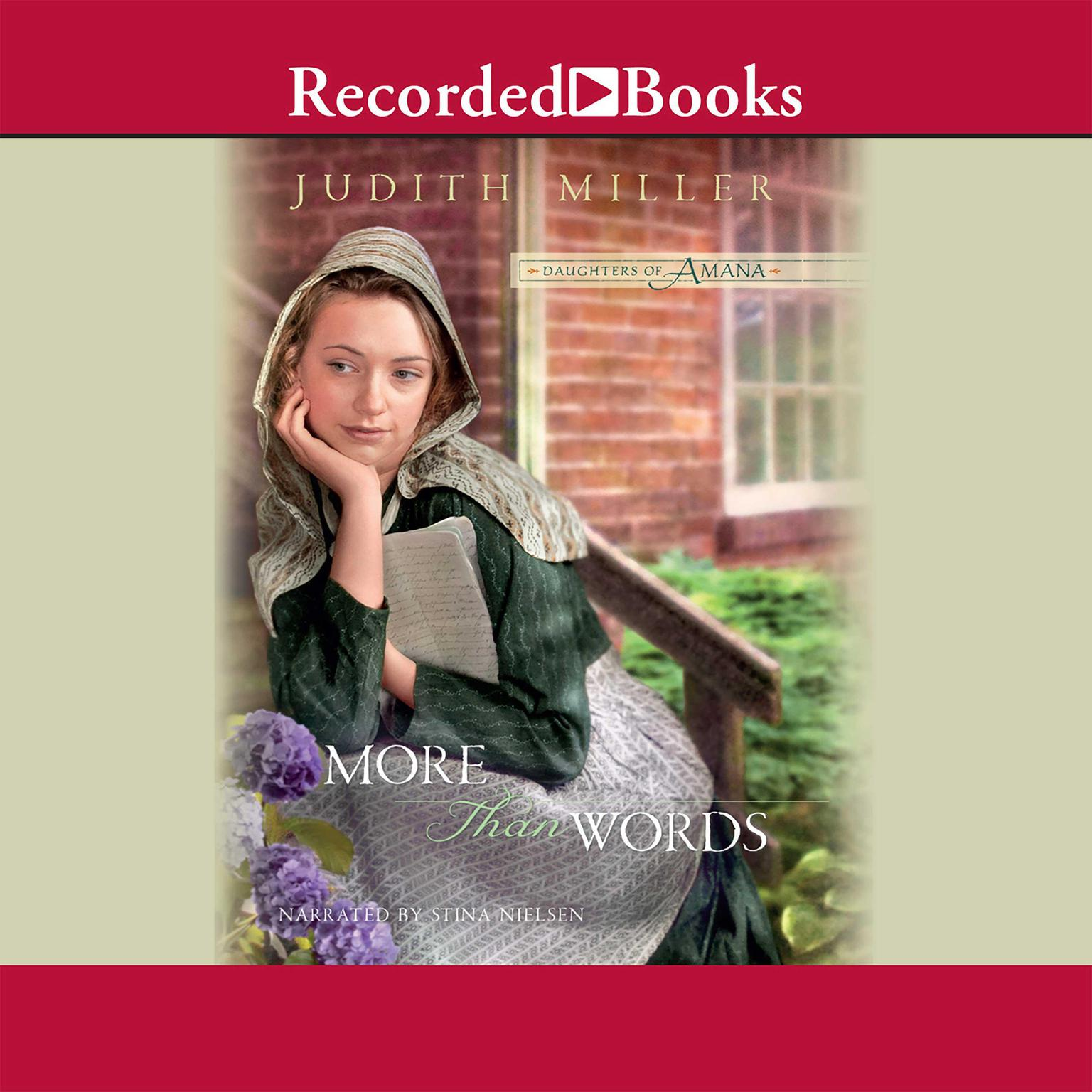Printable More Than Words Audiobook Cover Art