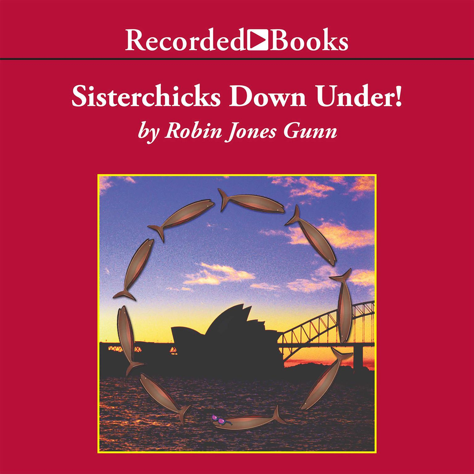 Printable Sisterchicks Down Under Audiobook Cover Art
