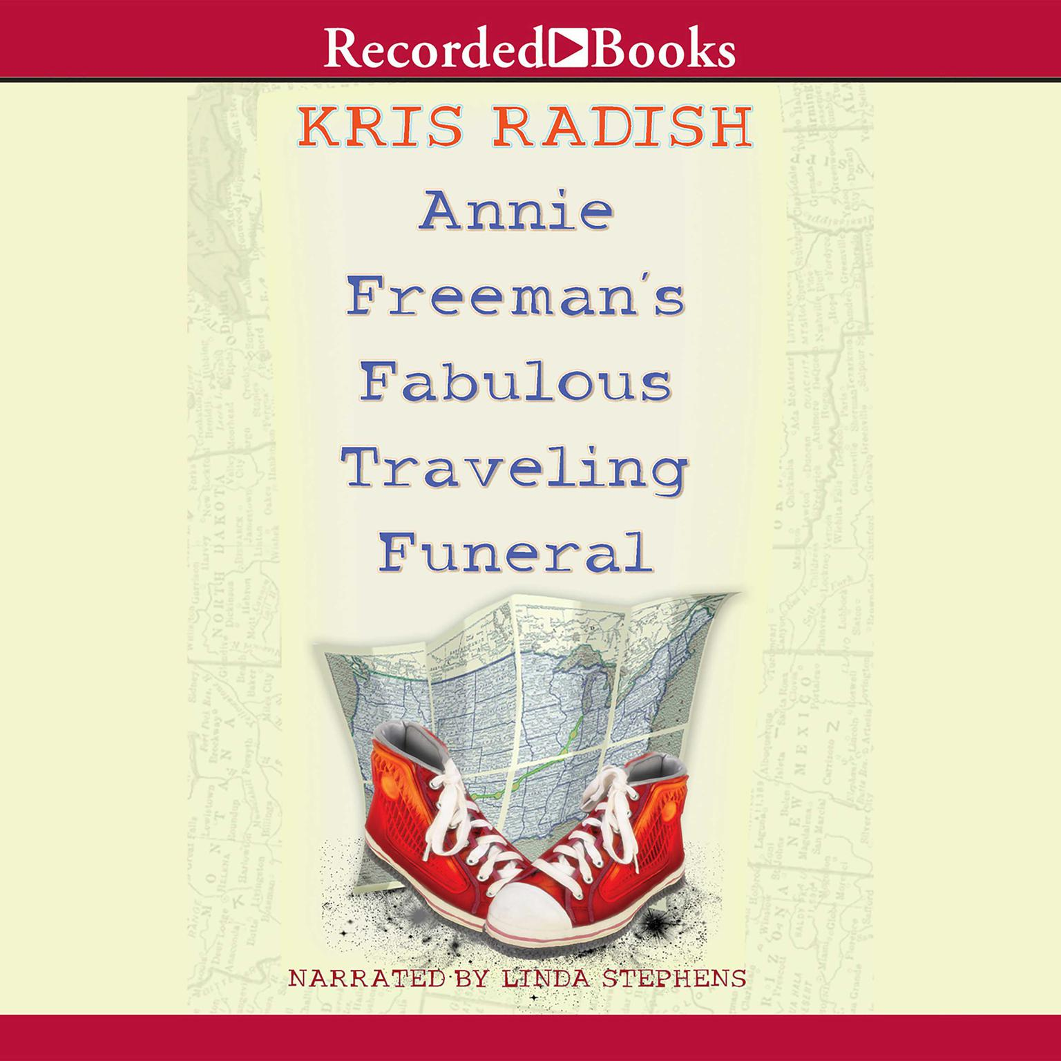 Printable Annie Freeman's Fabulous Traveling Funeral Audiobook Cover Art