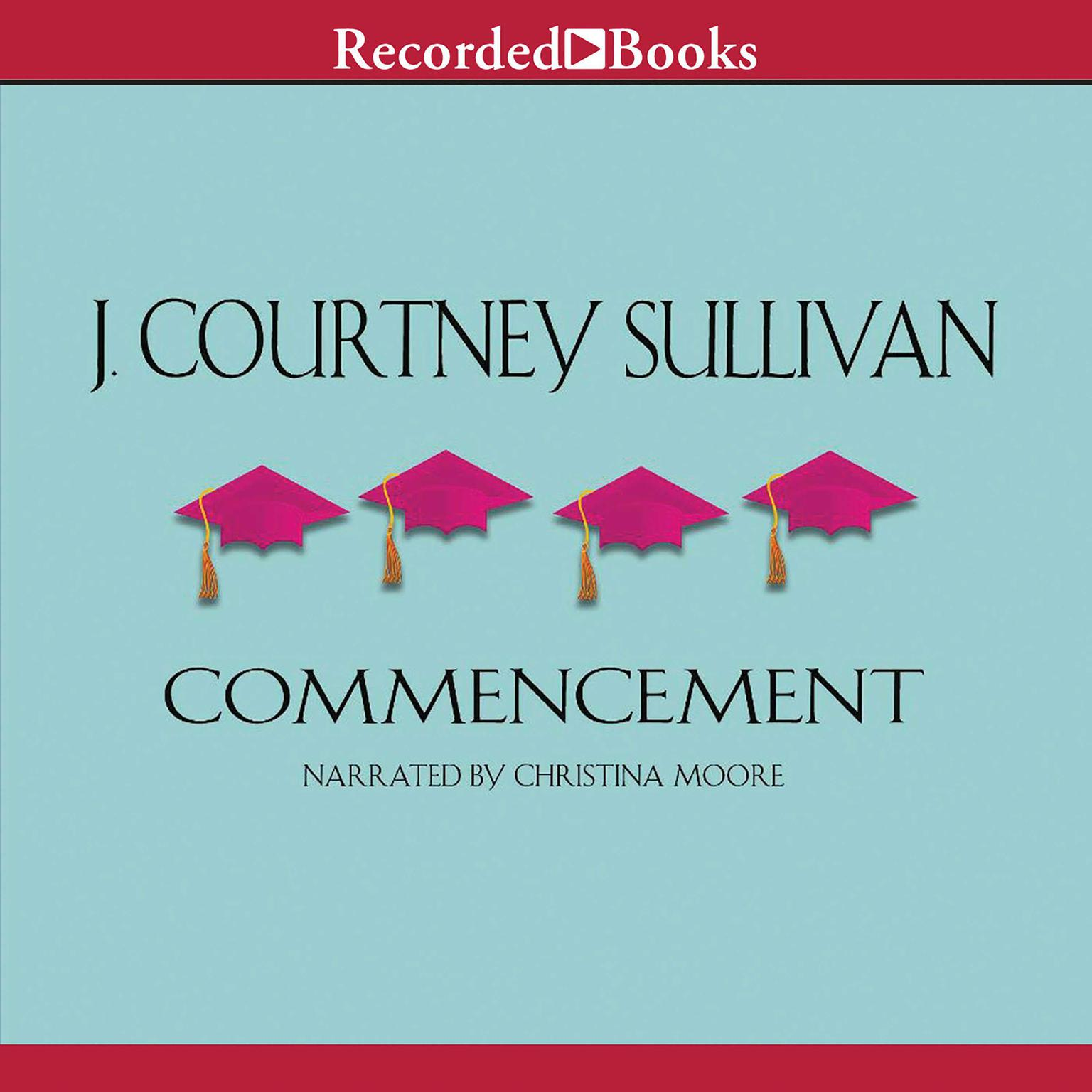 Printable Commencement Audiobook Cover Art
