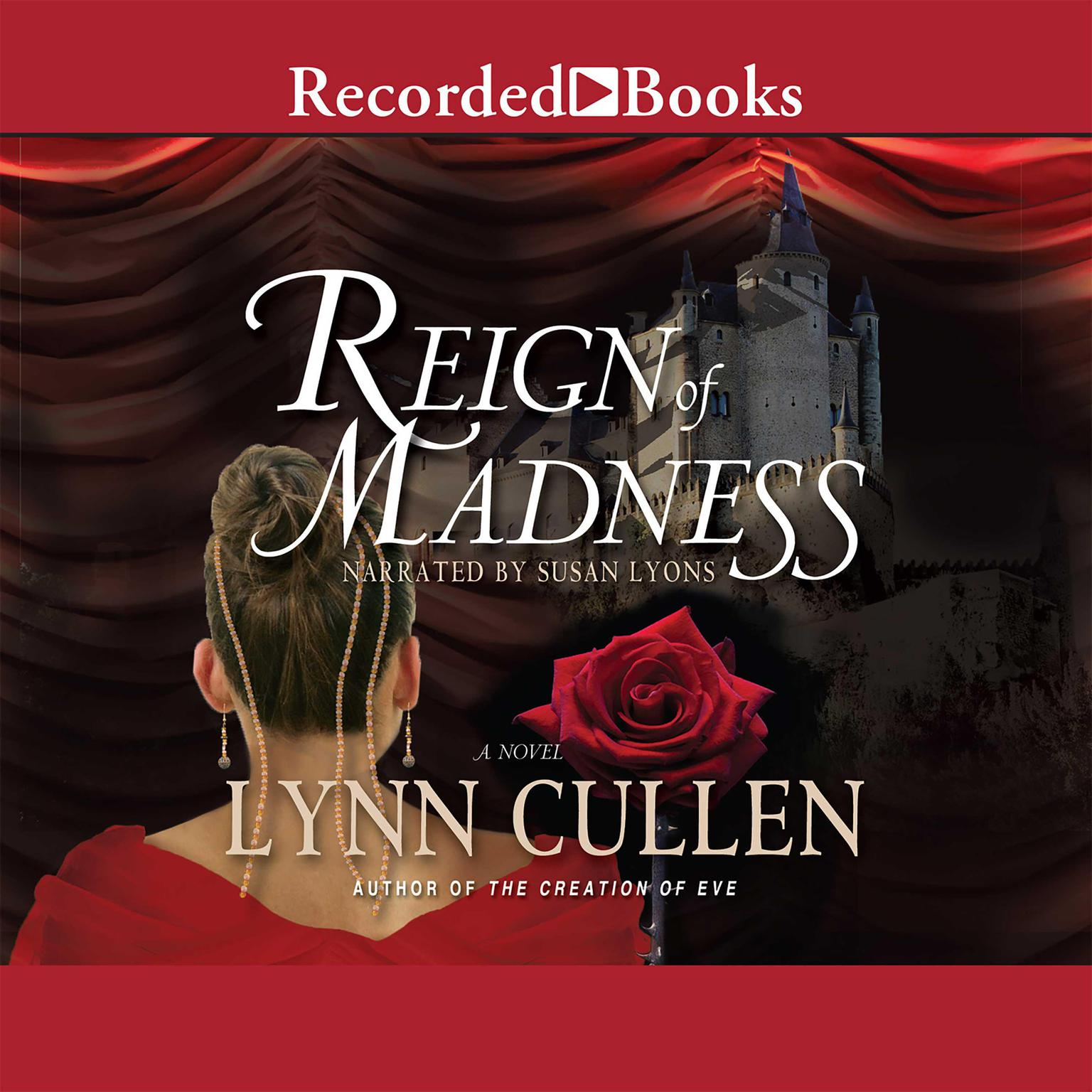 Printable Reign of Madness Audiobook Cover Art