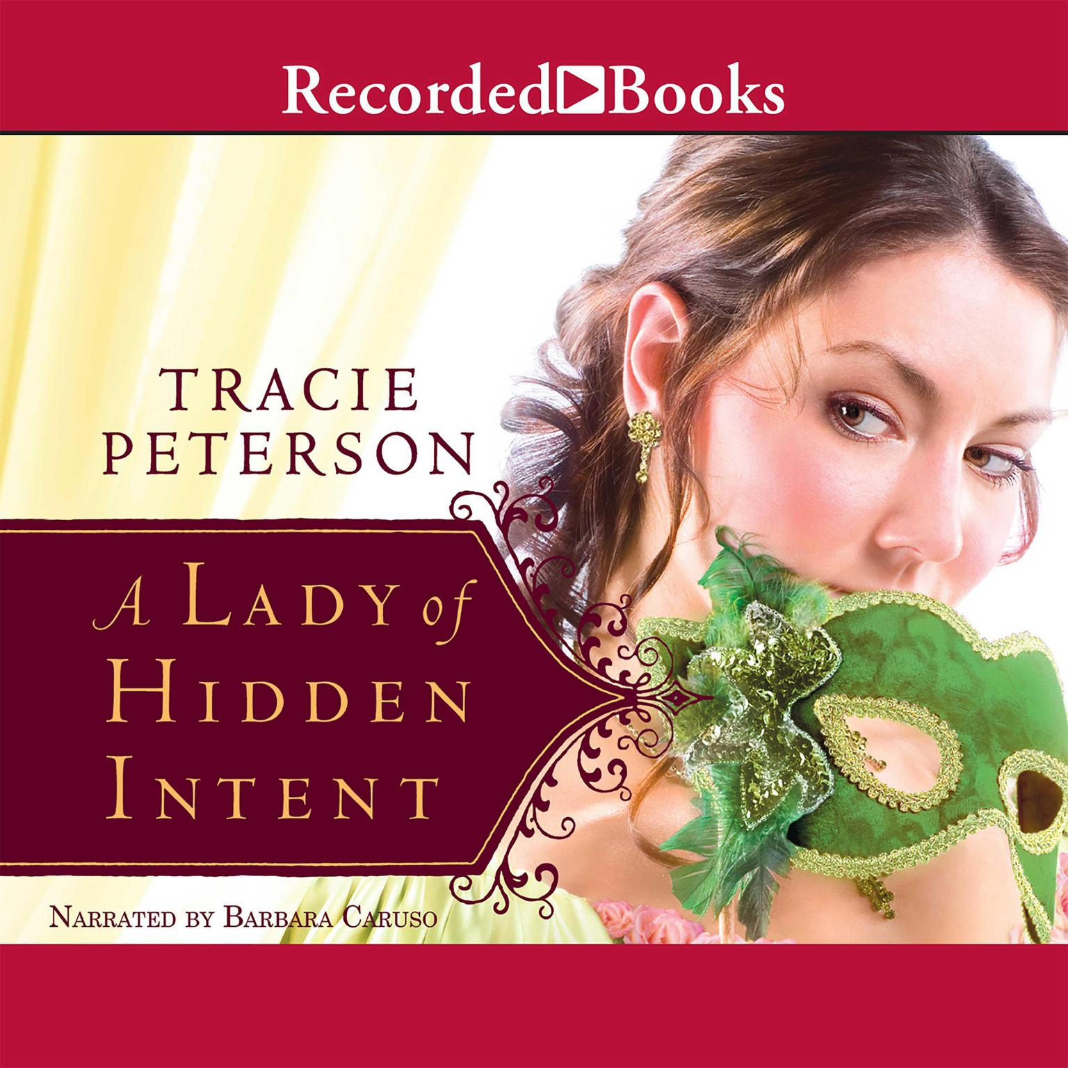 Printable A Lady of Hidden Intent Audiobook Cover Art