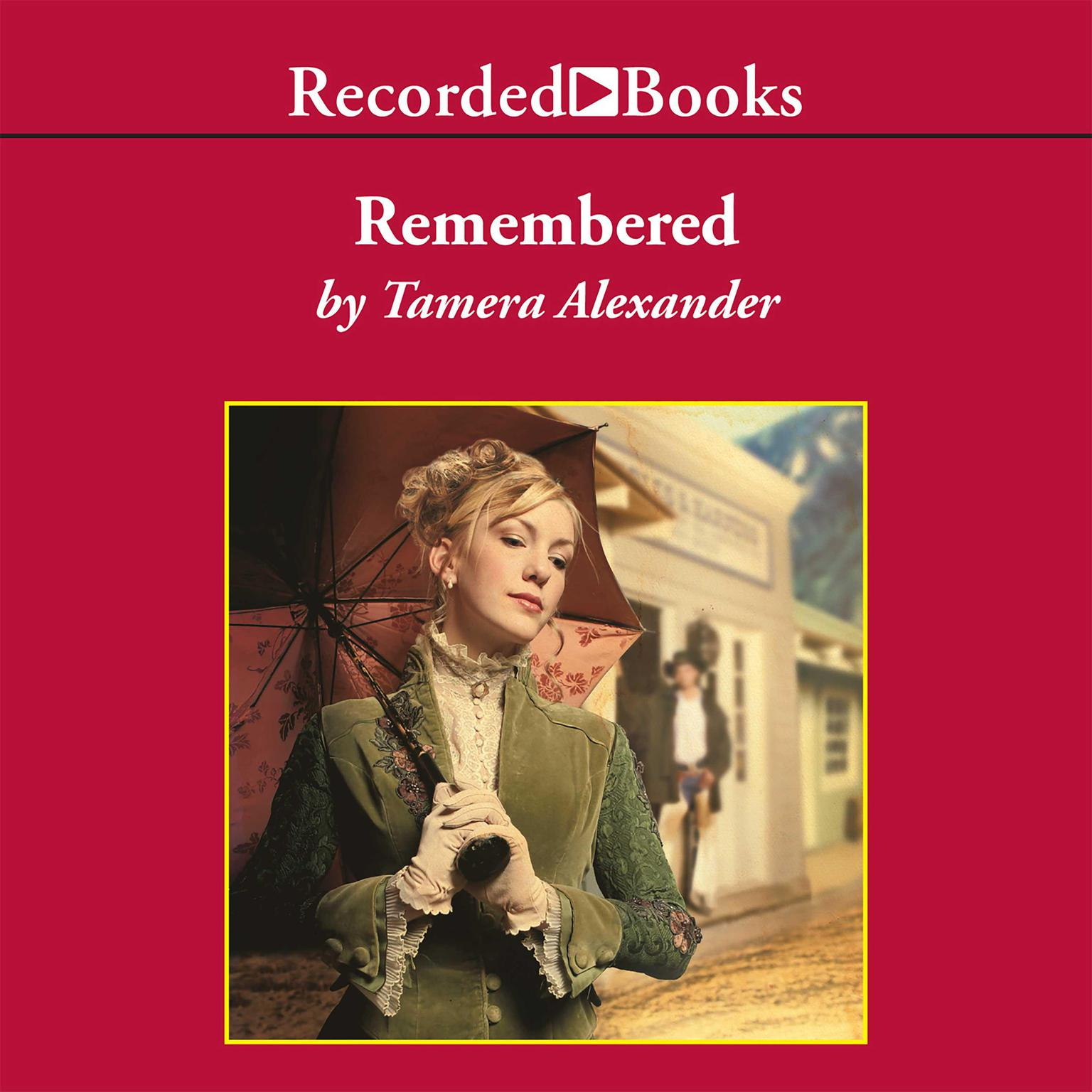 Printable Remembered Audiobook Cover Art