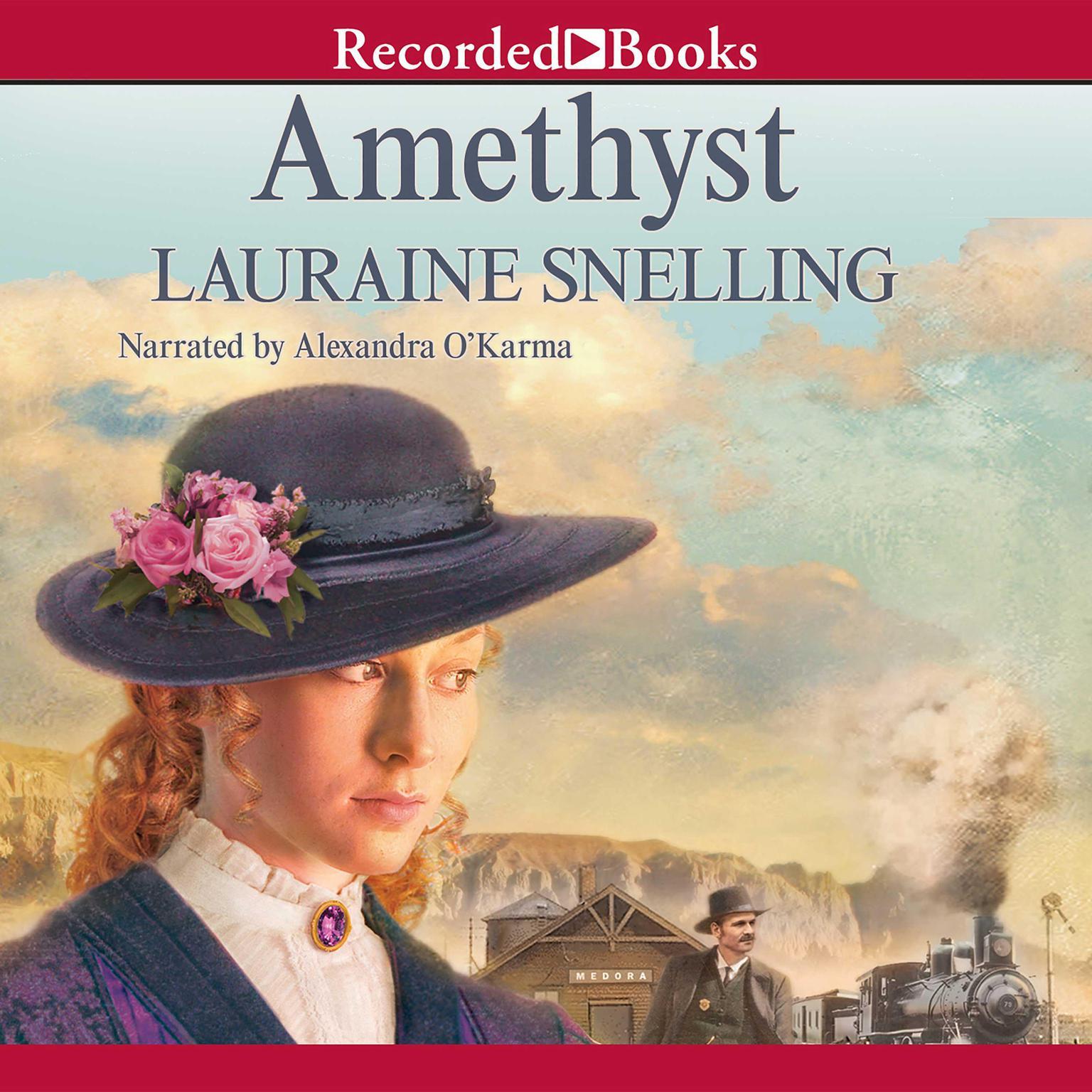 Printable Amethyst Audiobook Cover Art