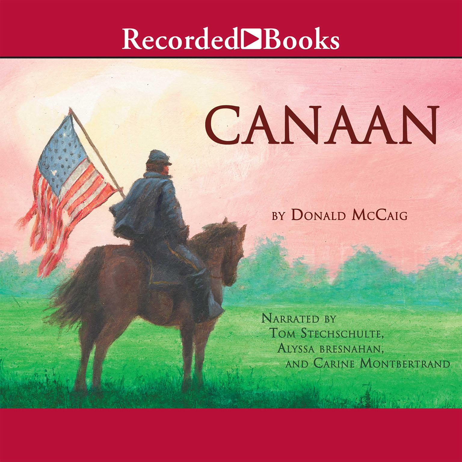 Printable Canaan Audiobook Cover Art