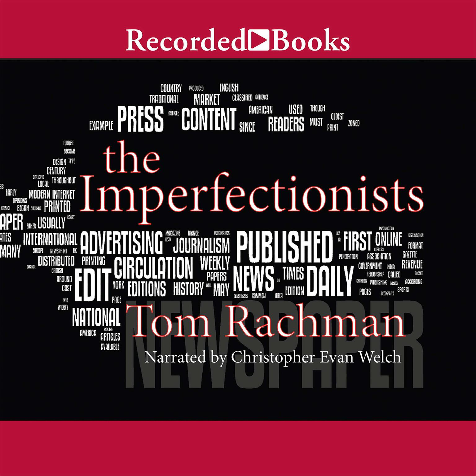 Printable The Imperfectionists Audiobook Cover Art