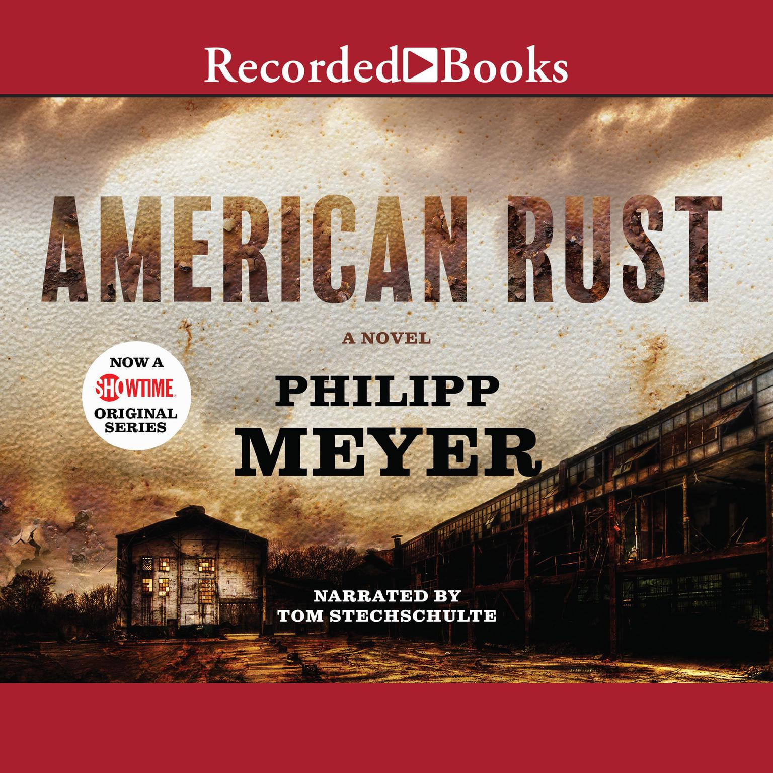 Printable American Rust Audiobook Cover Art