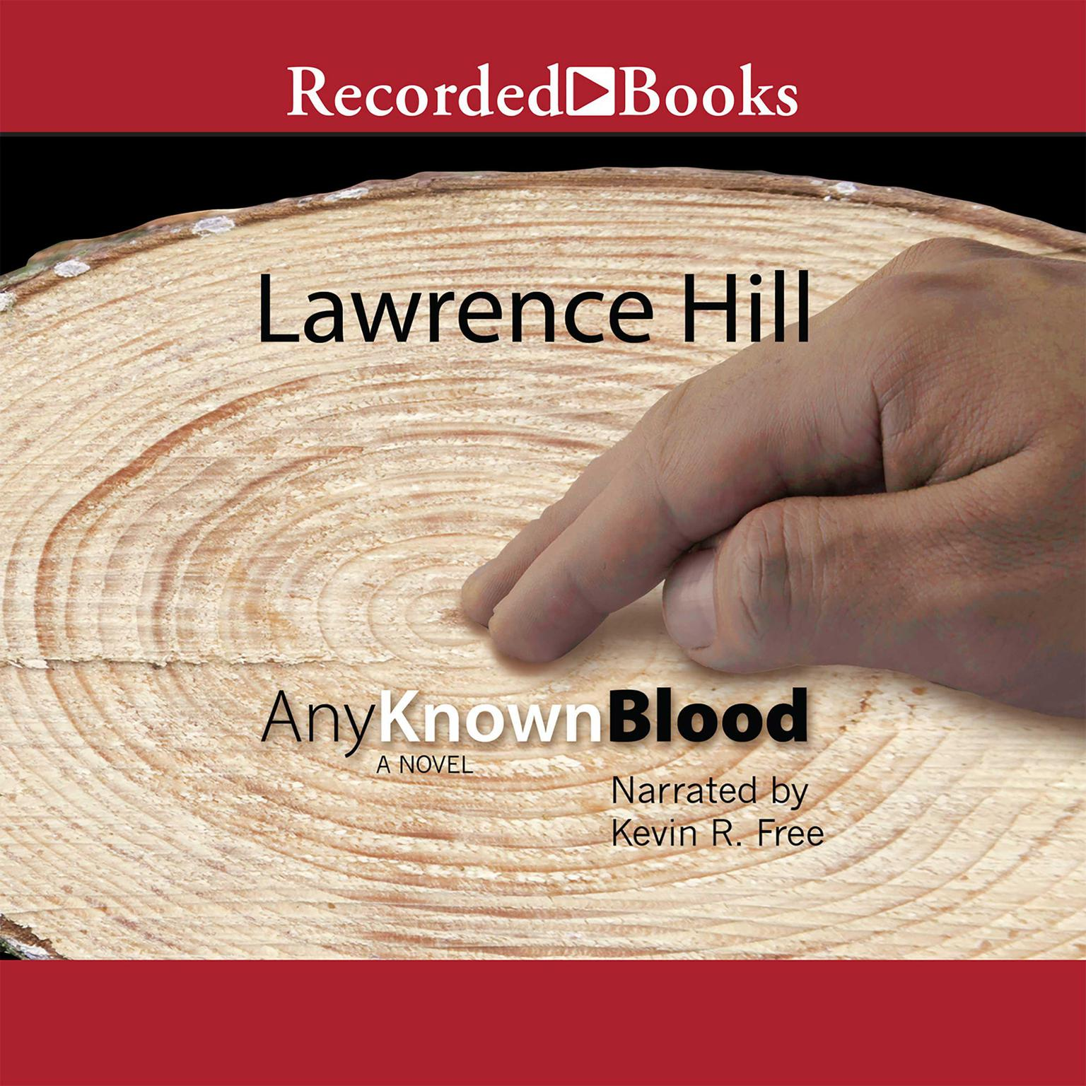 Printable Any Known Blood Audiobook Cover Art
