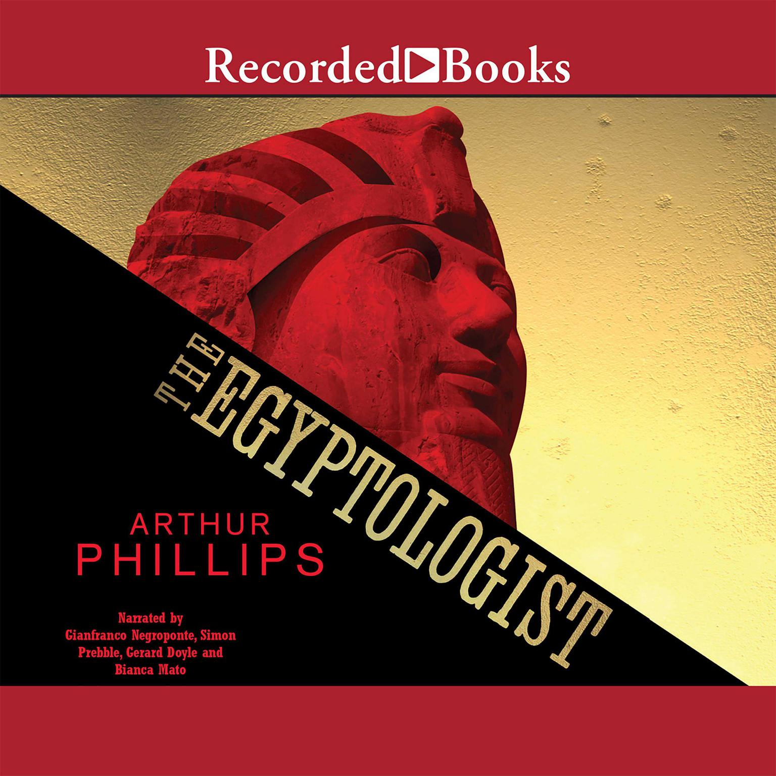Printable The Egyptologist Audiobook Cover Art