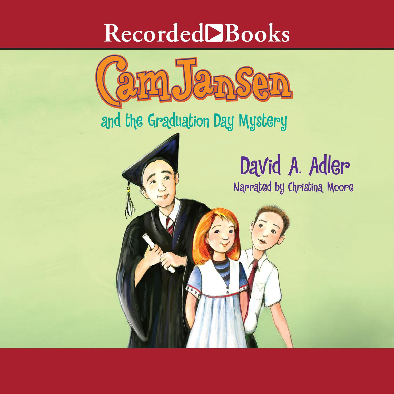 Printable Cam Jansen and the Graduation Day Mystery Audiobook Cover Art