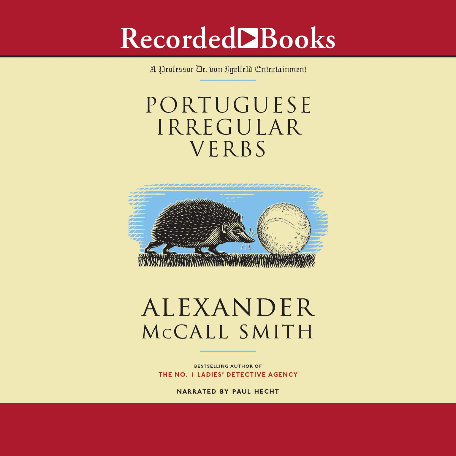 Printable Portuguese Irregular Verbs Audiobook Cover Art