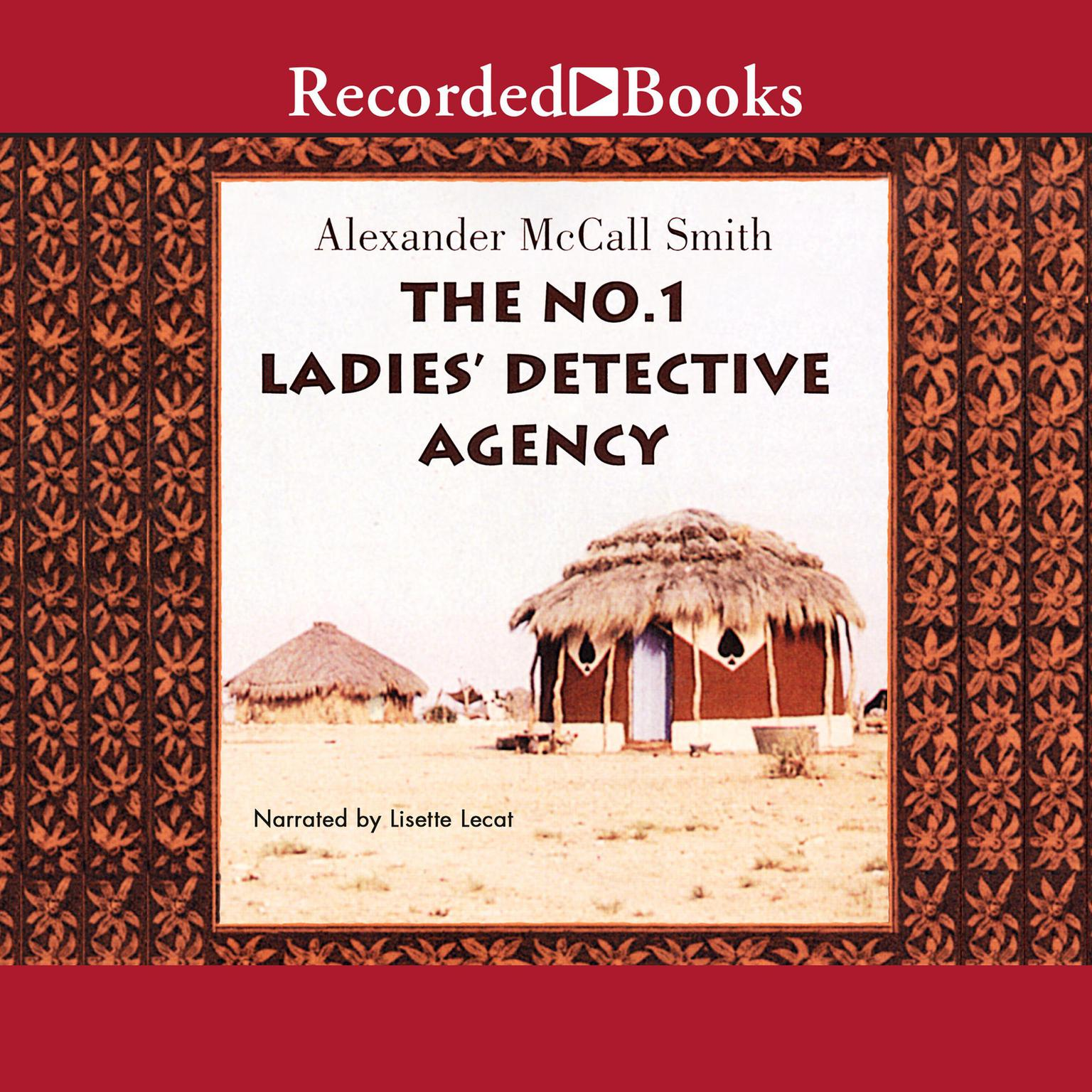 Printable The No. 1 Ladies' Detective Agency Audiobook Cover Art