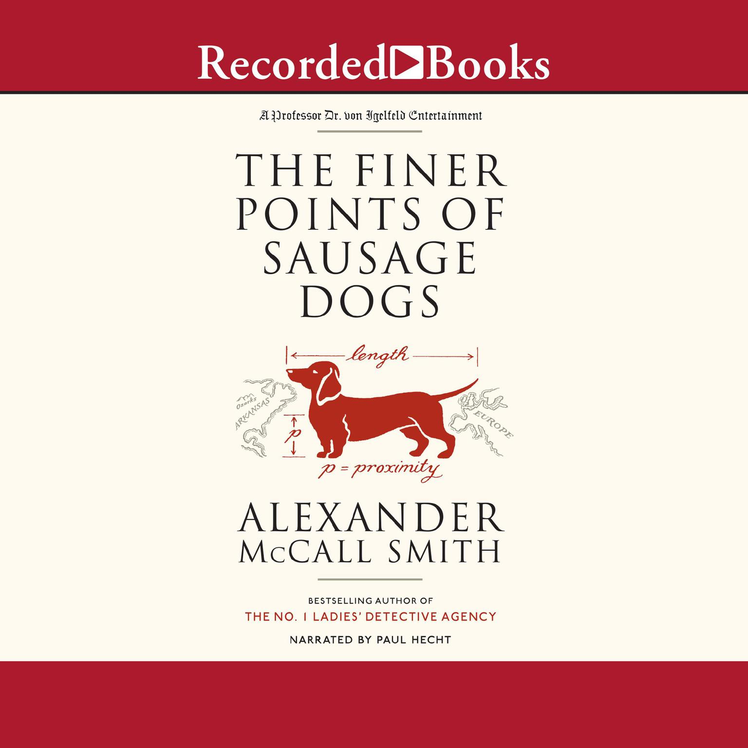Printable The Finer Points of Sausage Dogs Audiobook Cover Art