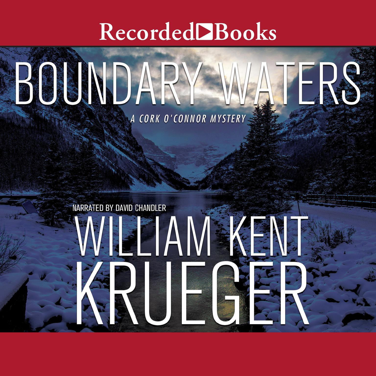 Printable Boundary Waters Audiobook Cover Art