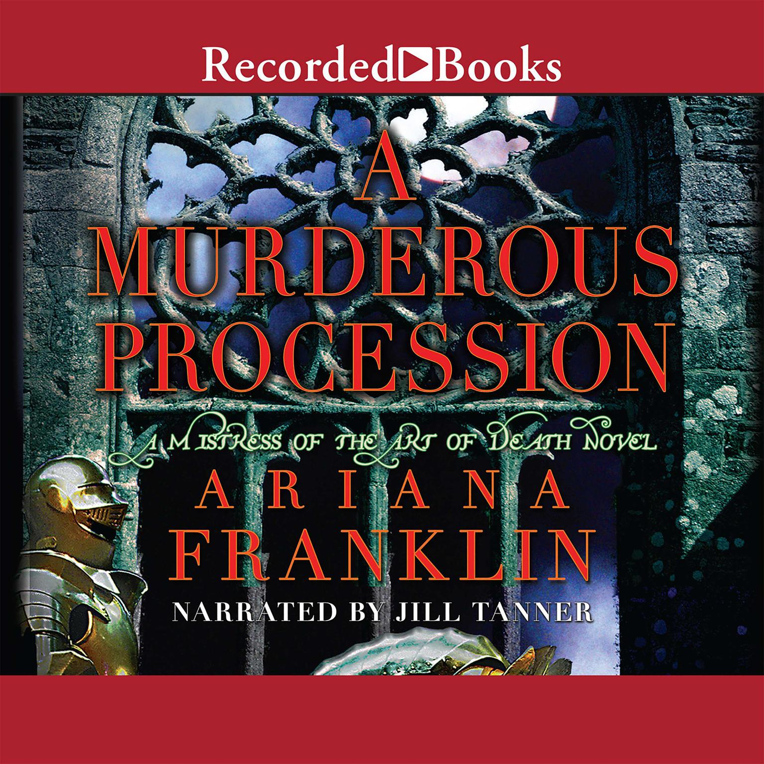 Printable A Murderous Procession Audiobook Cover Art