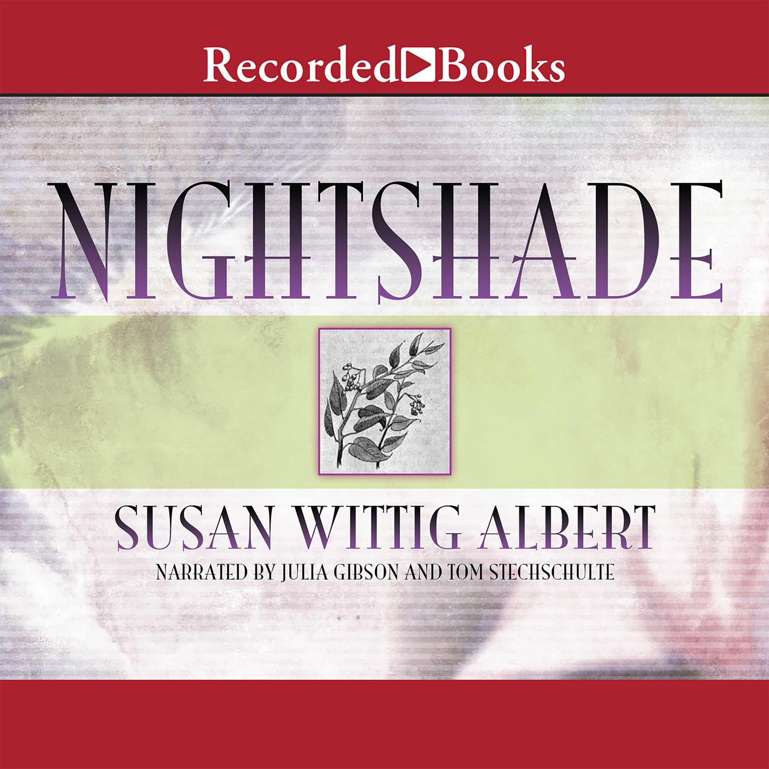 Printable Nightshade Audiobook Cover Art